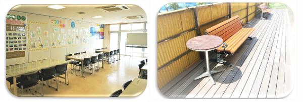 精神科作業療法を行う機能訓練室